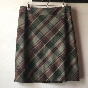 Ann Taylor petites A-line skirt